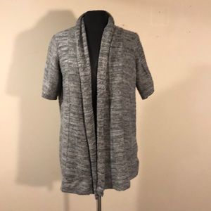 The Limited Gray Cardigan Sweater (L)